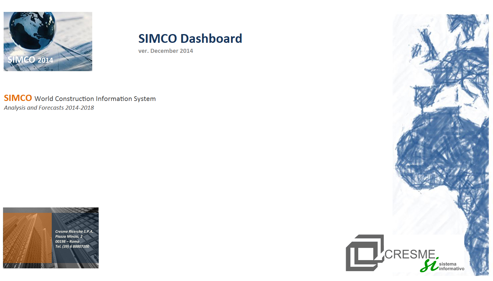 SIMCO dashboard